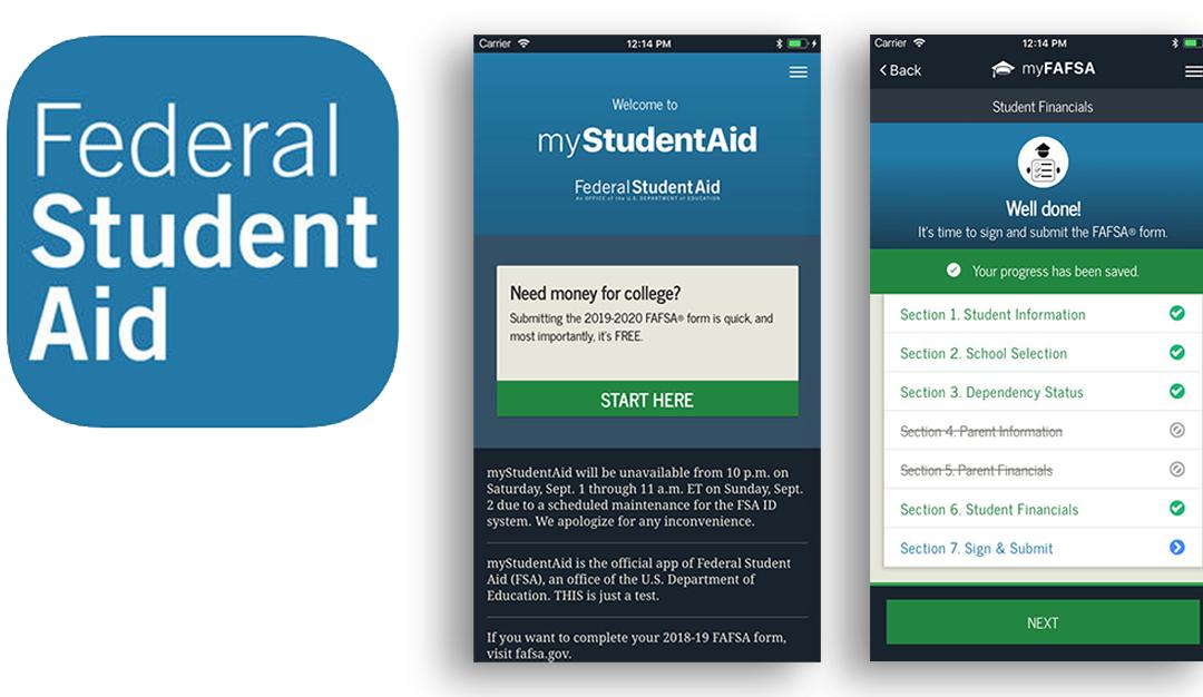 myStudentAid Mobile App