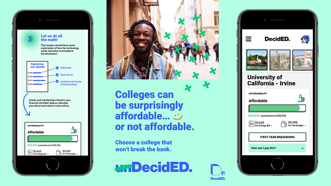 DecidED: College Affordability Tool for Students